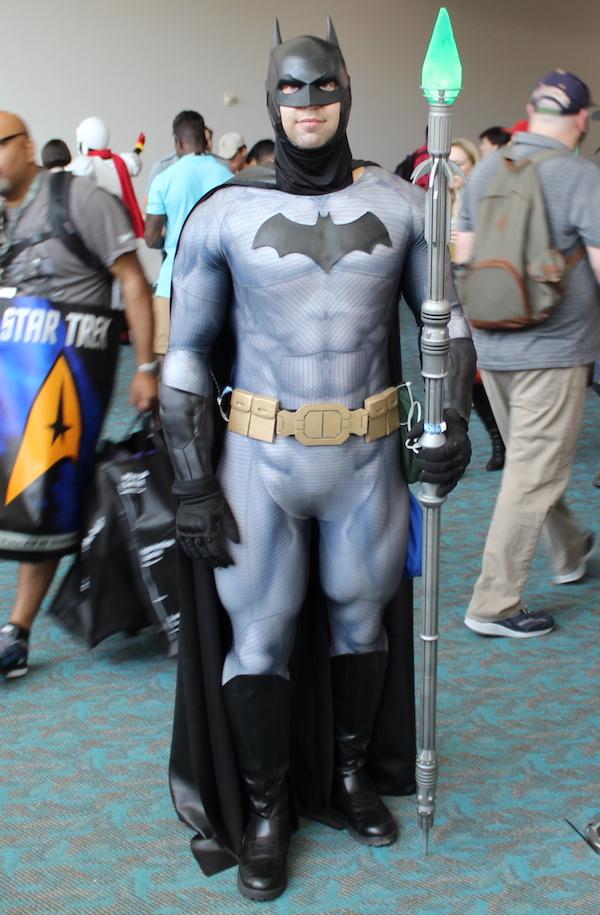 SDCC Costume batman spear
