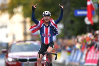 Quinn Simmons dominated the Road World Championships U23 road race in Yorkshire