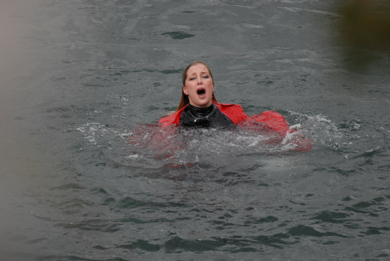 Will psycho Clare be drowned out?