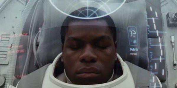 Finn in the Last Jedi trailer