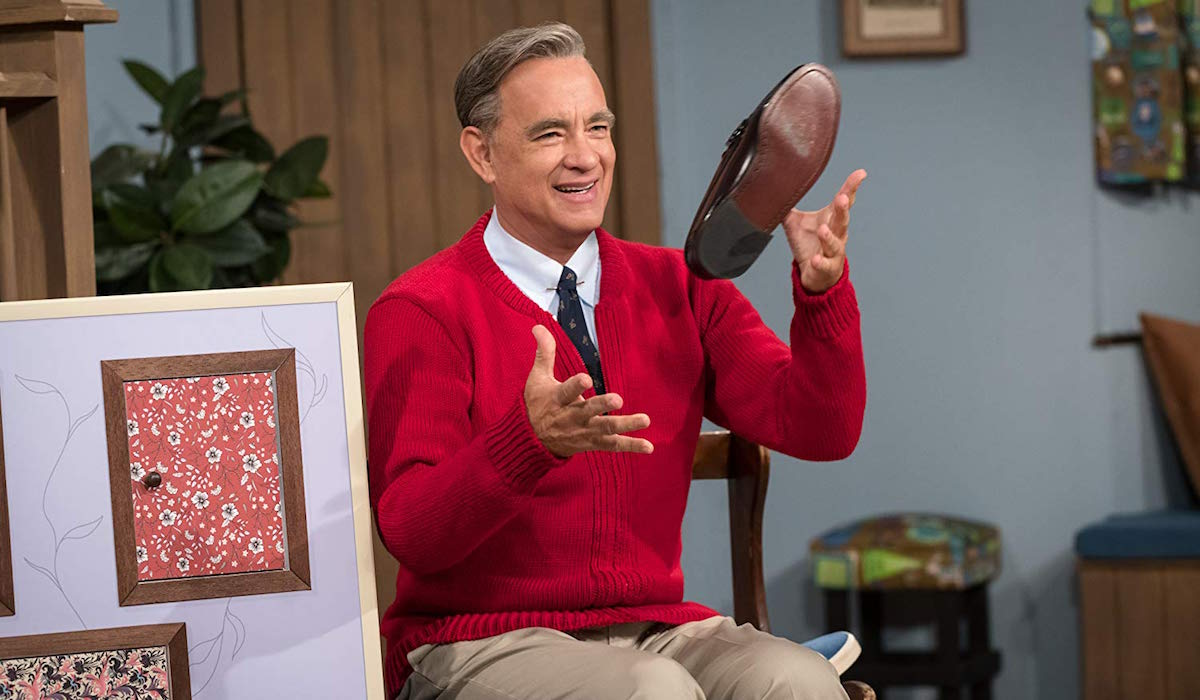 Tom Hanks' Mister Rogers in A Beautiful Day in the Neighborhood
