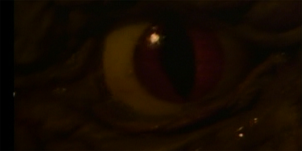 "Gramma's red eye in The Twilight Zone ""Gramma"""