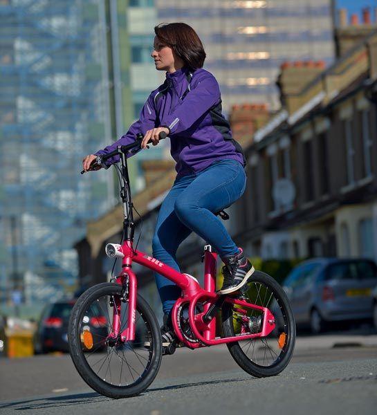 B'Twin Tilt folding bike