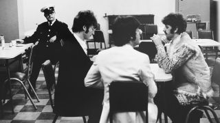 The Beatles in the EMI Canteen