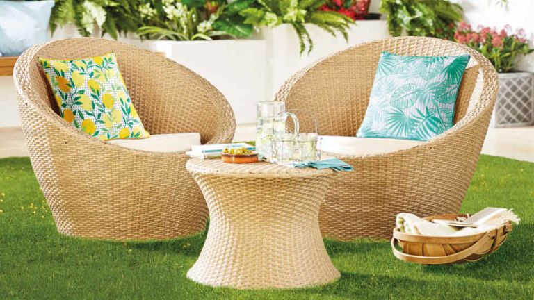 rattan chairs from aldi