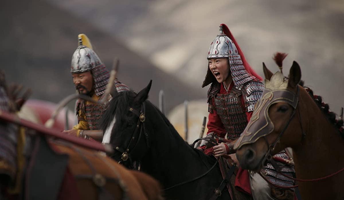 Yifei Liu as Mulan in 2020 version