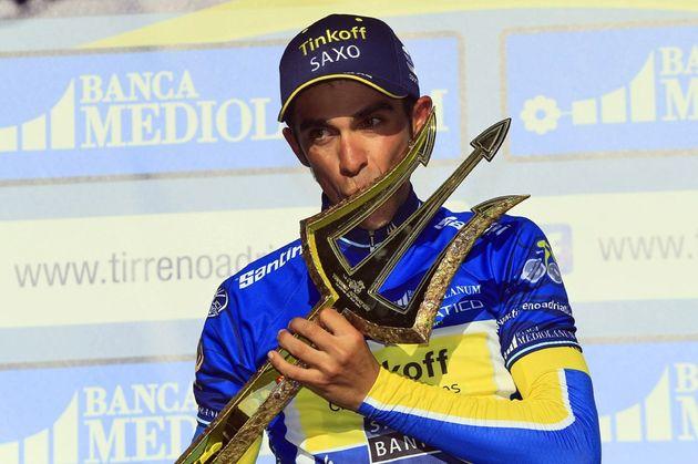 Alberto Contador wins the 2014 Tirreno Adriatico