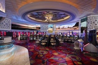 Peppermill's signature offering is Windows of the World, a vast library of UHD footage shot by Ness and his team that plays throughout the properties on huge LED screens.