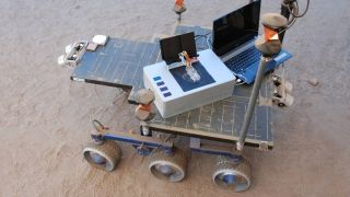 NASA's new chemical laptop on test rover