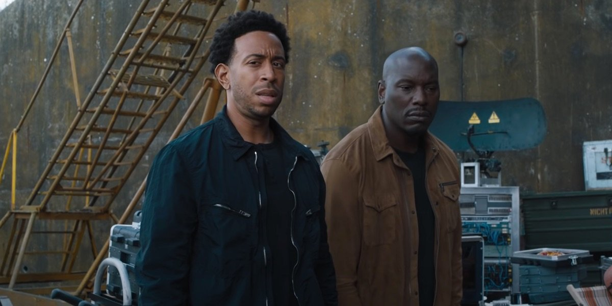 Tyrese Gibson and Ludacris in F9
