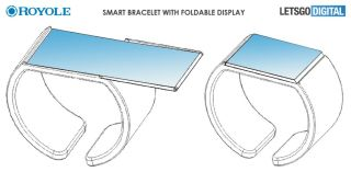 The world's first foldable phone maker may have a plan for bendy wearables