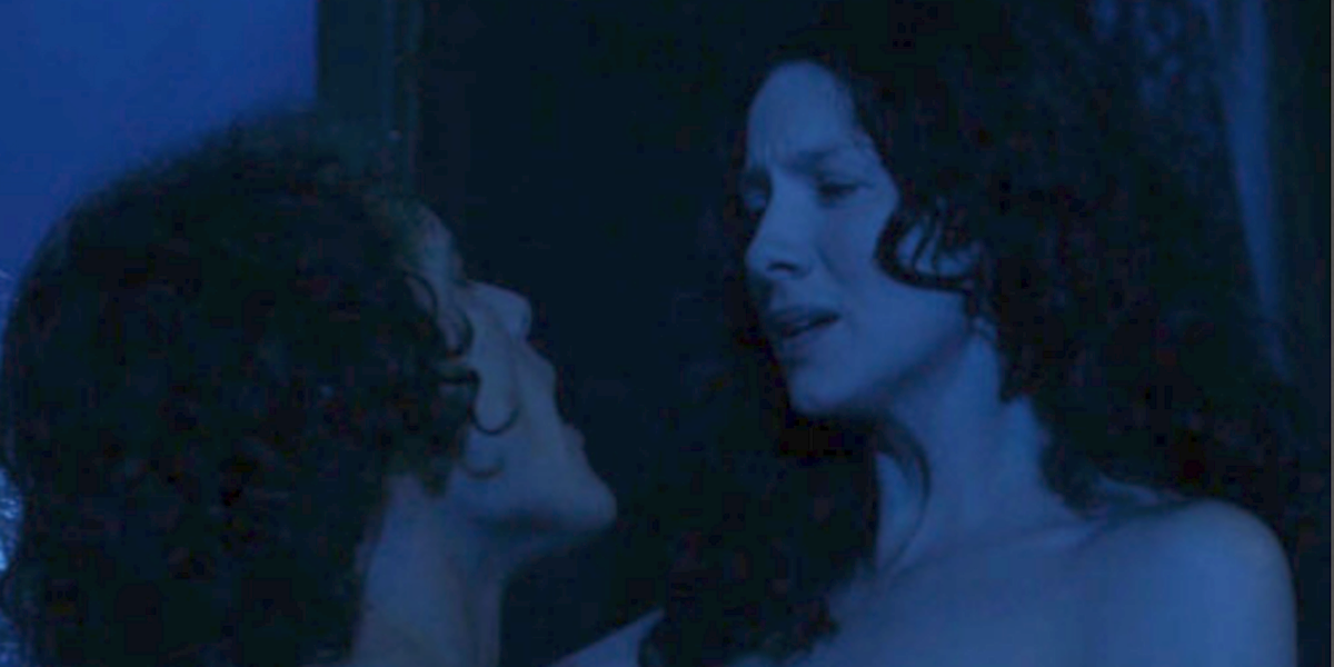 outlander season 2 episode 4 pregnant sex jamie claire moonlight starz