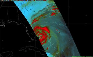 Hurricane Matthew Develops Double Eyewall