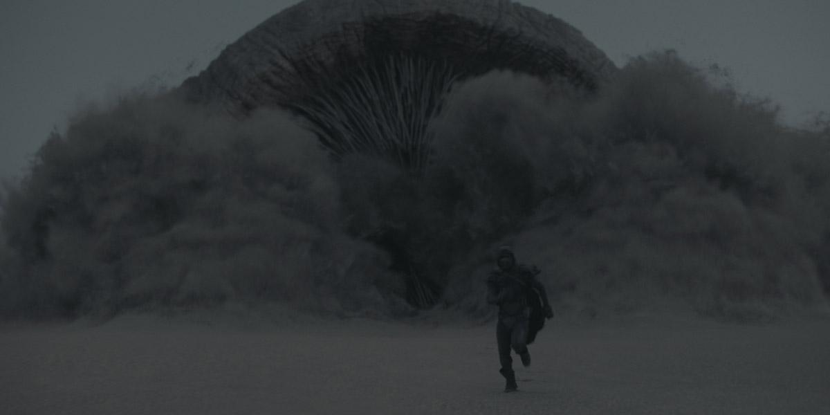 Sandworm attack in Dune
