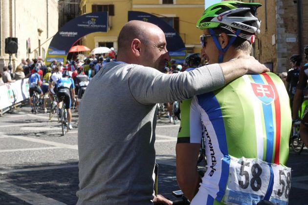 Paolo Bettini and Peter Sagan