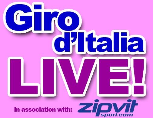 Giro d'Italia 2010 live logo
