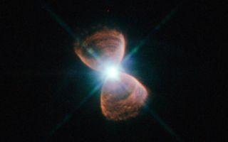 Hubble 12 Bipolar Planetary Nebula 1920