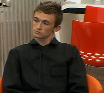 Luke - who narrowly missed out on nomination - looked a little nervous as he awaited the announcement