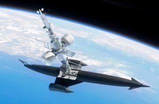 Skylon Spaceplane Docked