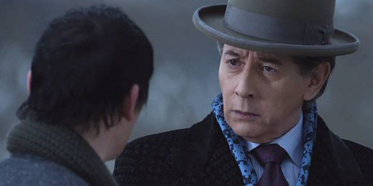 Robin Lord-Taylor and Paul Reubens on Gotham