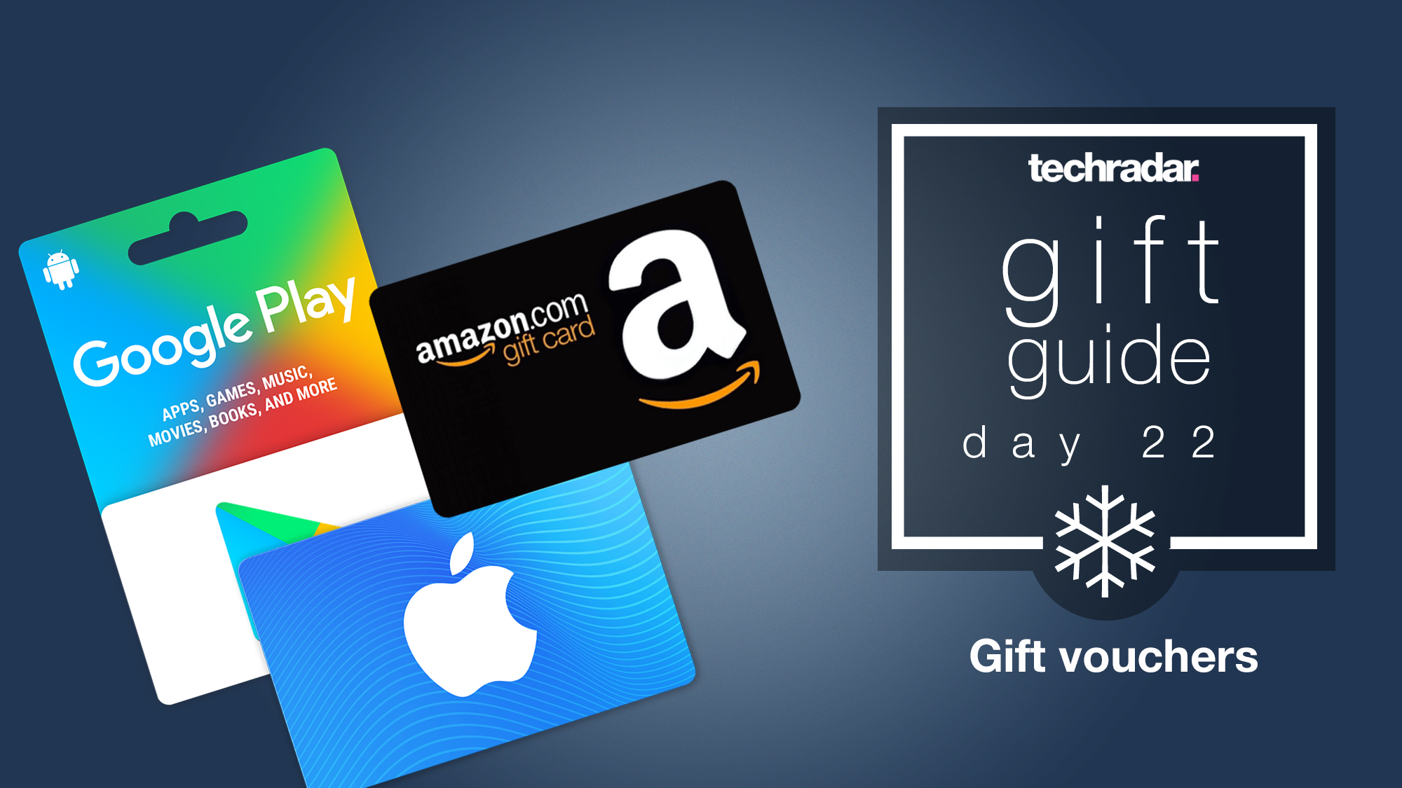 Top Christmas Gifts Vouchers And Gift Cards Techradar