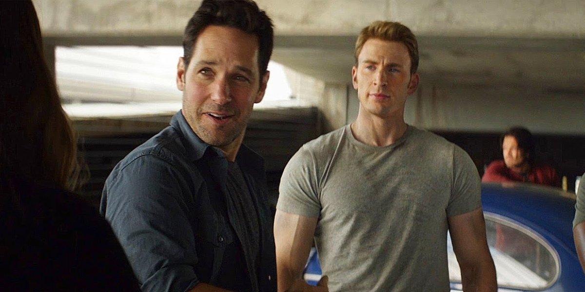 Captain America: Civil War Paul Rudd points out Chris Evans