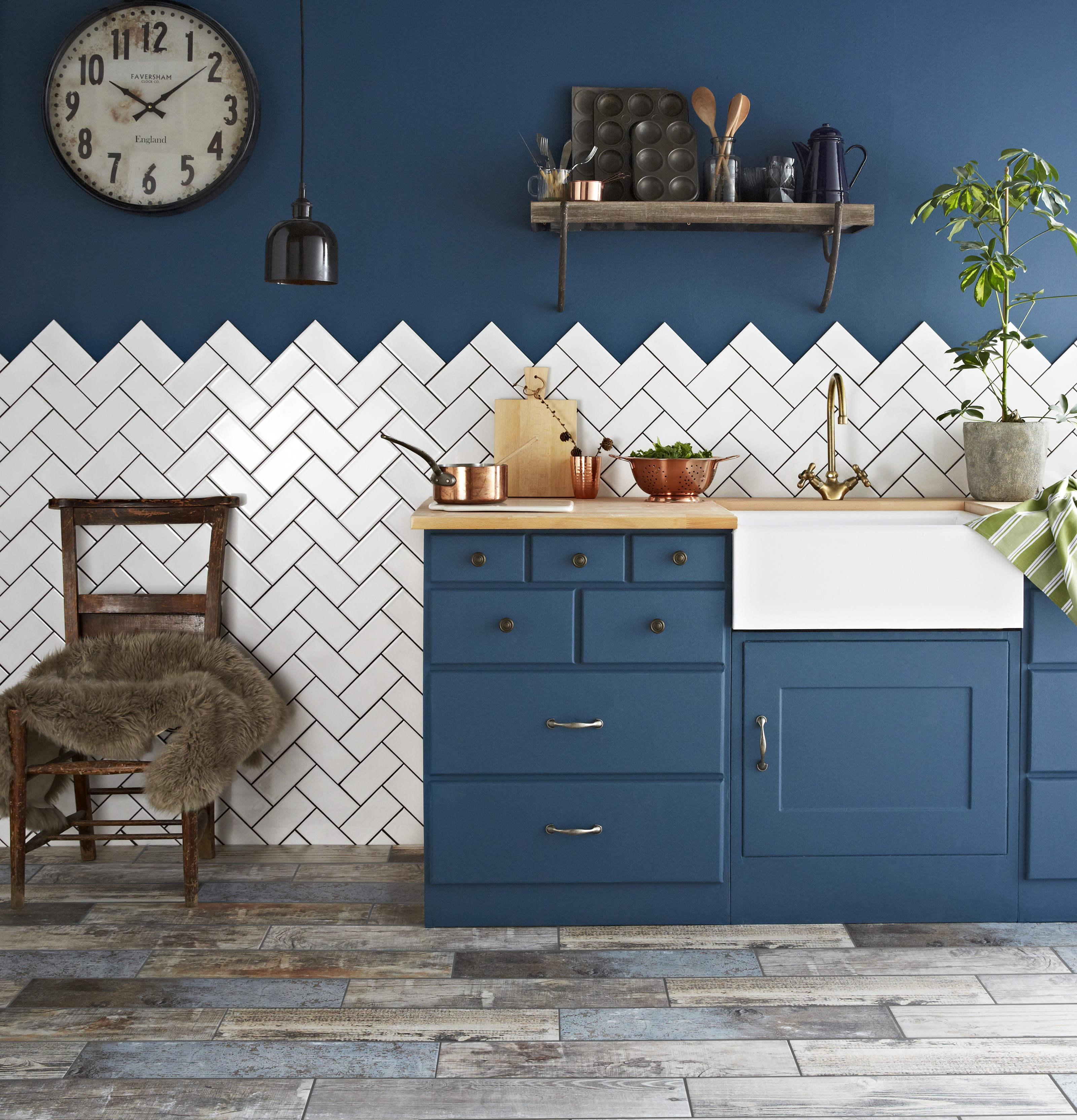 Brilliant The Best Kitchen Cupboard Paint Real Homes Home Interior And Landscaping Spoatsignezvosmurscom