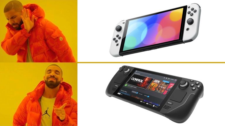 Nintendo Switch OLED Steam Deck