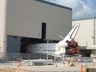 Shuttle Atlantis Takes a Short Trip