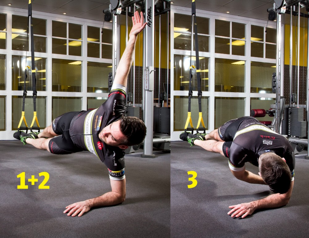 TRX Training: indoor core workouts and moves to practise ...