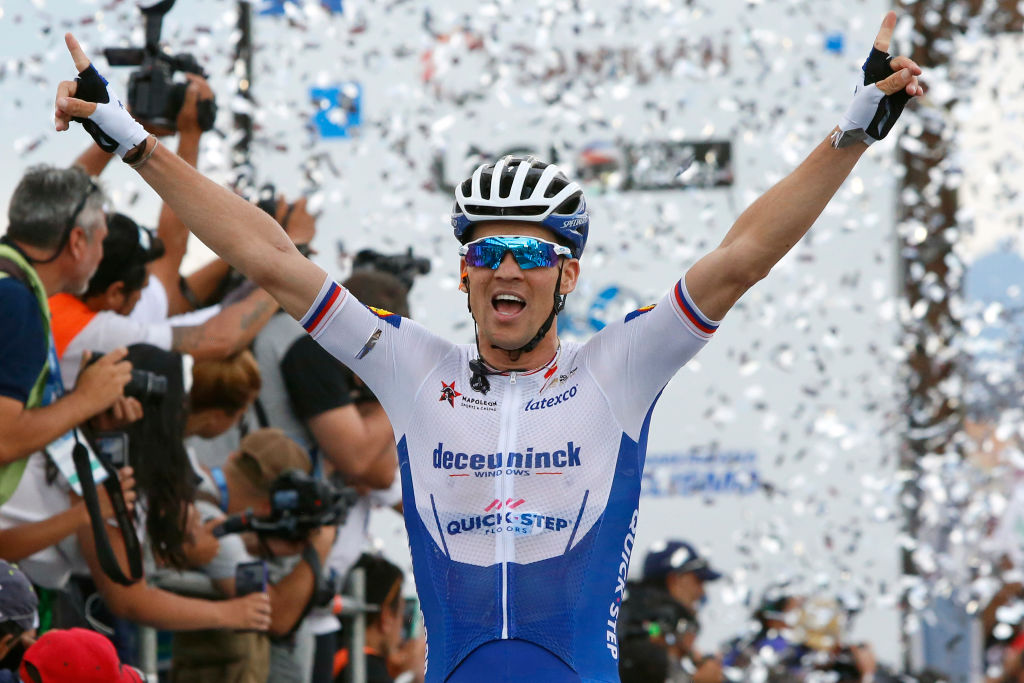 Zdenek Stybar (Deceuninck-QuickStep) wins stage 6 at the Vuelta a San Juan
