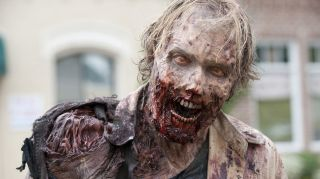 A zombie from the TV show The Walking Dead