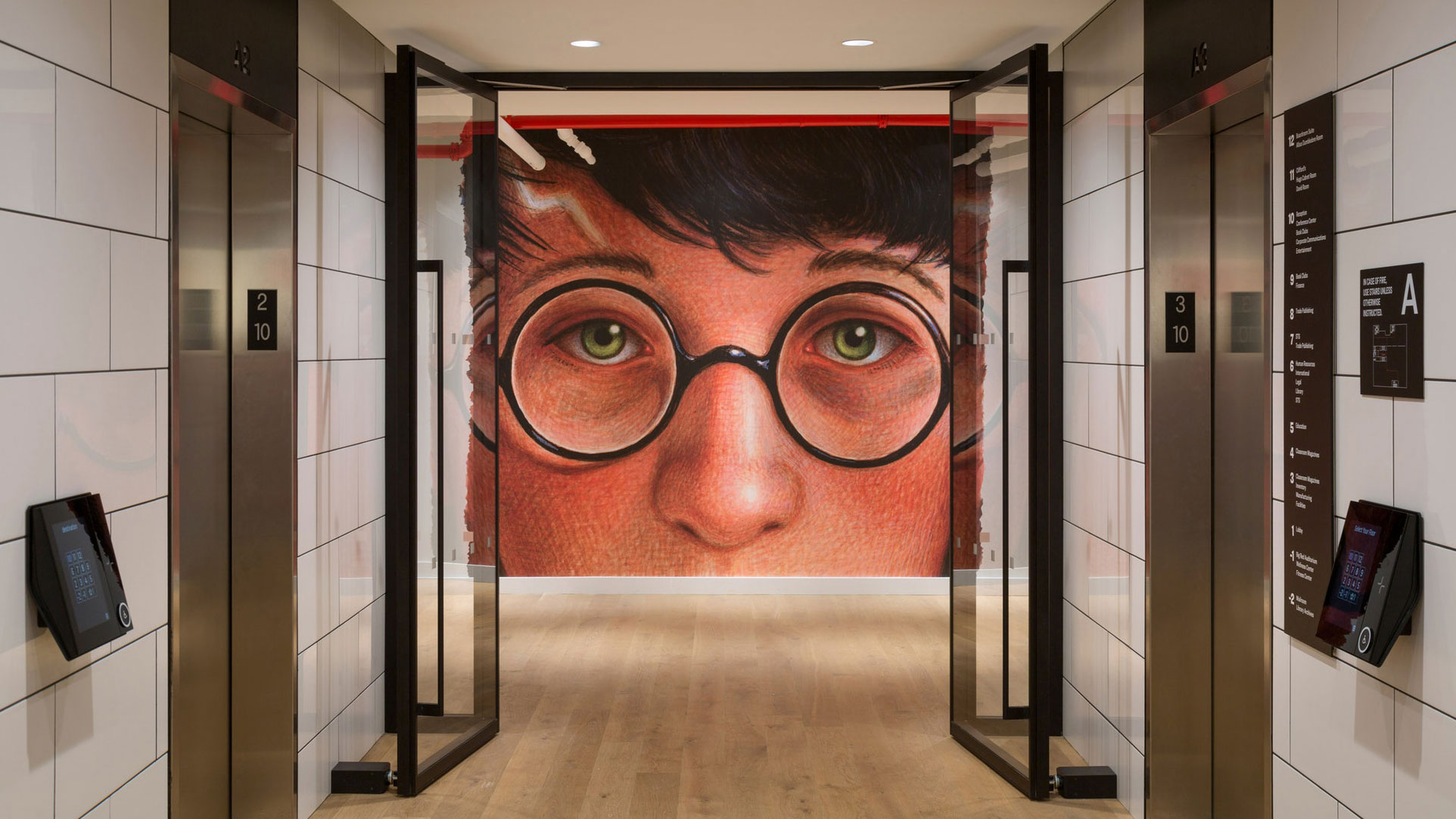 14 incredibly cool office murals | Creative Bloq