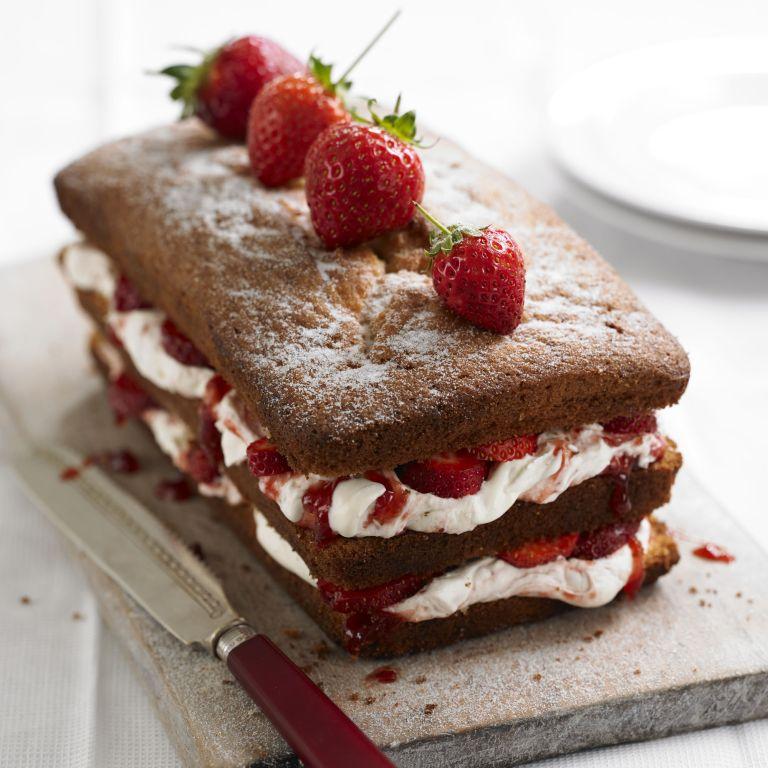 Victoria Sandwich Loaf recipe-cake recipes-recipe ideas-new recipes-woman and home