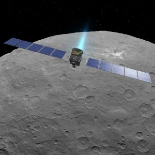 Dawn Travels to Third Science Orbit