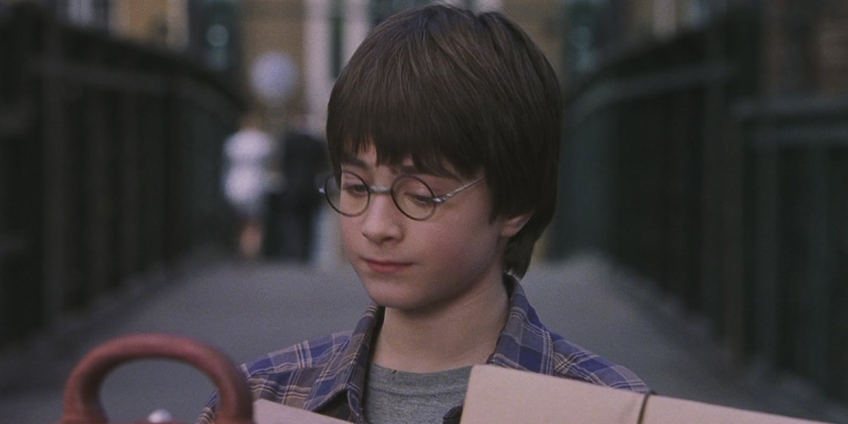 Daniel Radcliffie in Harry Potter and the Sorcerer's Stone