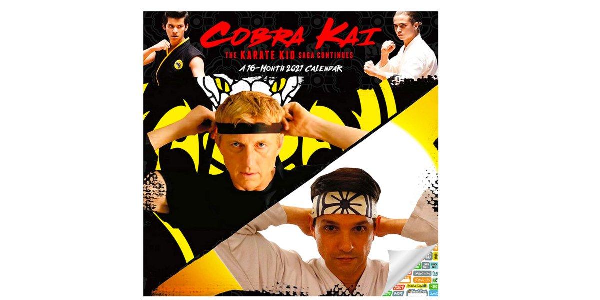 Cobra Kai 2021 16-Month Calendar