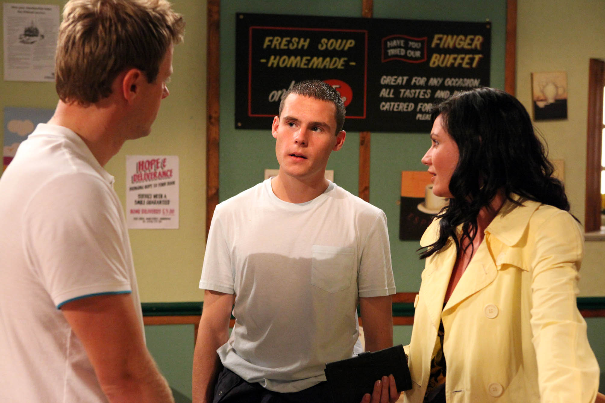 Aaron tells Chas to forget Carl