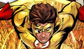 We Finally Have a Look At Kid Flash And It's On Point