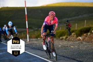 Hugh Carthy (EF Pro Cycling) on the penultimate stage of the Vuelta a España