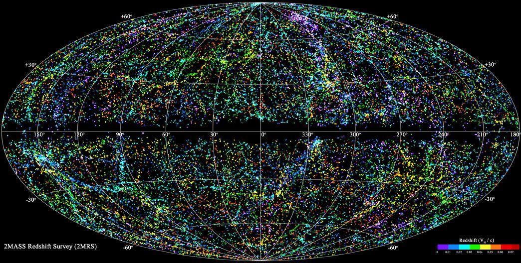 REZULTAT ISTRAŽIVANJA ČETIRI MILIONA GALAKSIJA! Astrofizičari objavili najveću 3D kartu svemira!