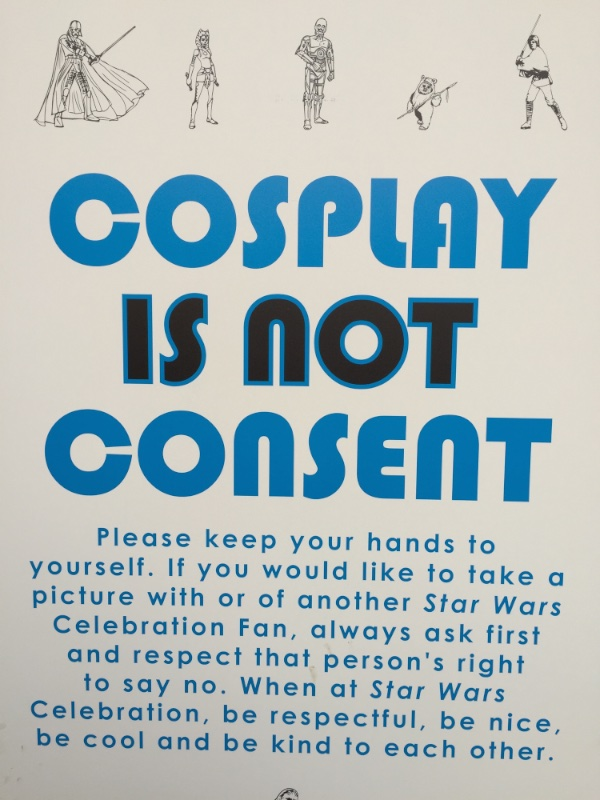 Cosplay Warning