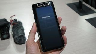The sizeable Samsung Galaxy A80. Image credit: TechRadar