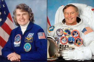 Astronaut Hall of Fame 2014 Inductees: Shannon Lucid and Jerry Ross