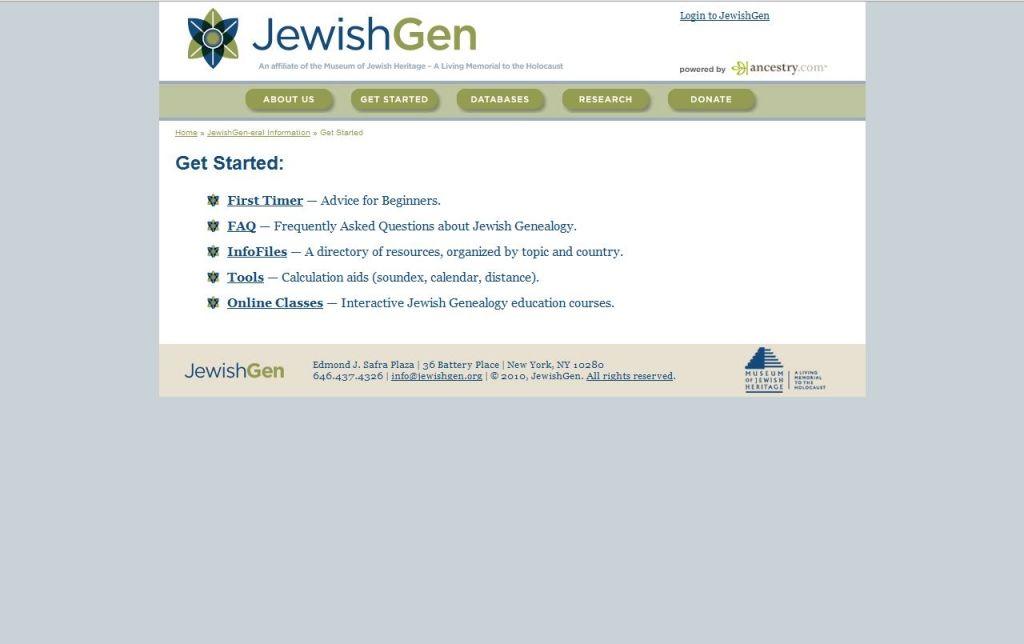 JewishGen Review - Pros, Cons and Verdict | Top Ten Reviews