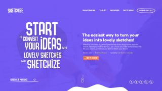 Sketchize homepage