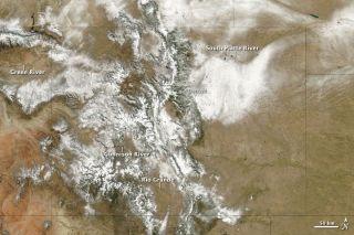 denver snow storm 2009