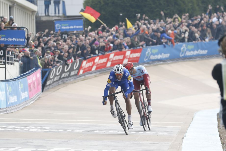 'It had to happen today': Philippe Gilbert says Flanders disappointment drove him on to Paris-Roubaix victory