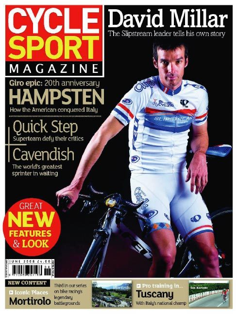 Cycle Sport June 2008 cover