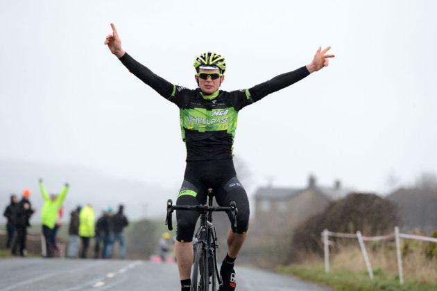 Simon Wilson wins Clayton Velo road race 2014